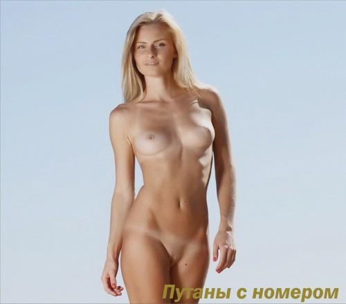 Олечка: мастурбация члена руками